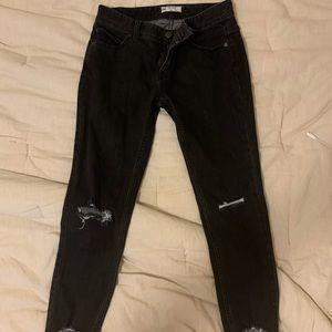 Black free people skinny jeans
